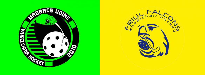 Squadre friulane ockey in carrozzina_Alma Madracs Udine e Friul Falcons