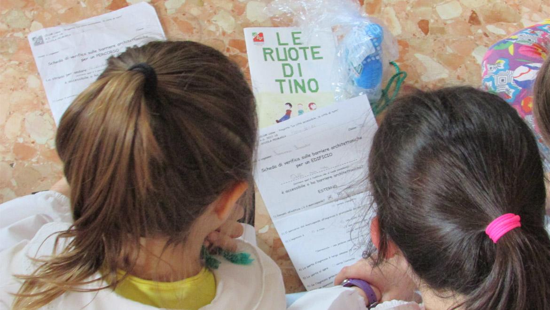 Intervento della UILDM in una scuola primaria di Udine