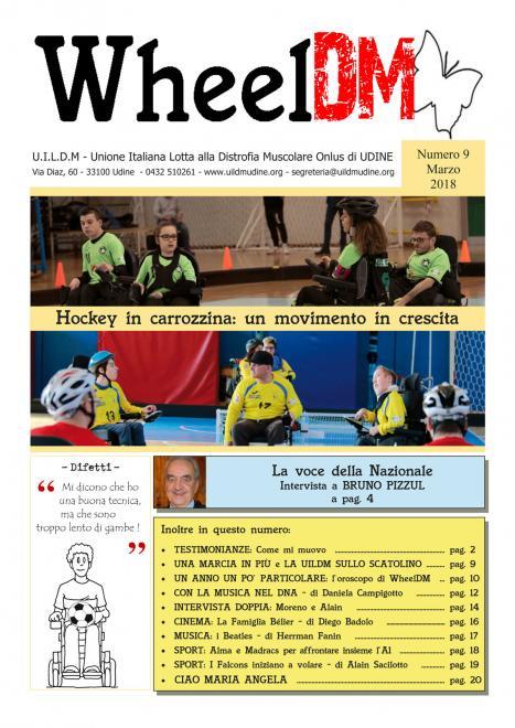 La copertina del n.9 di WheelDM