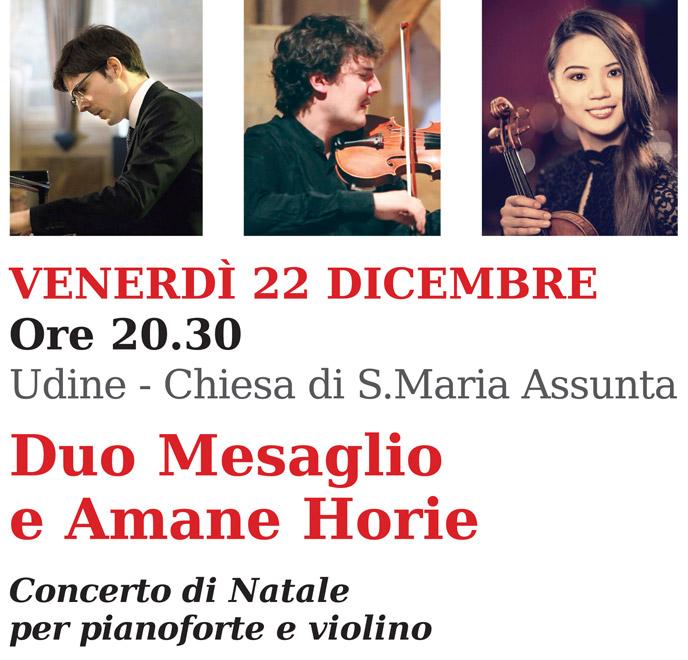 Concerto UILDM Duo Mesaglio Amane Horie