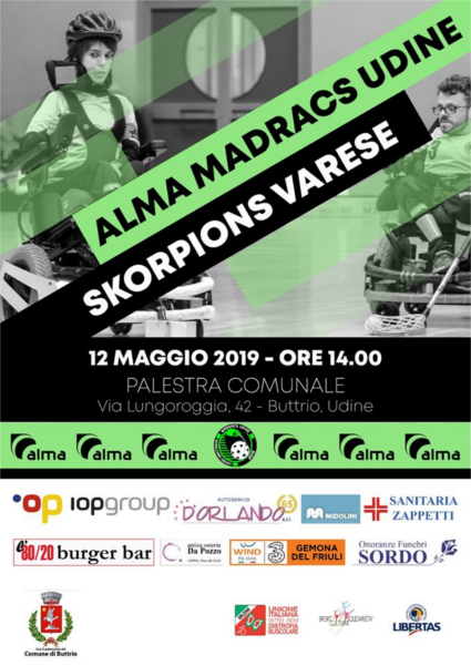 Madracs Udine vs Skorpions Varese