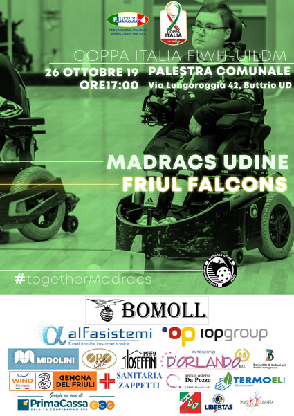 Coppa Italia: Madracs vs Falcons 26.10.2019