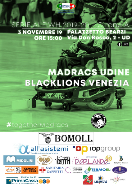 2019.11.03 Madracs vs Black Lions