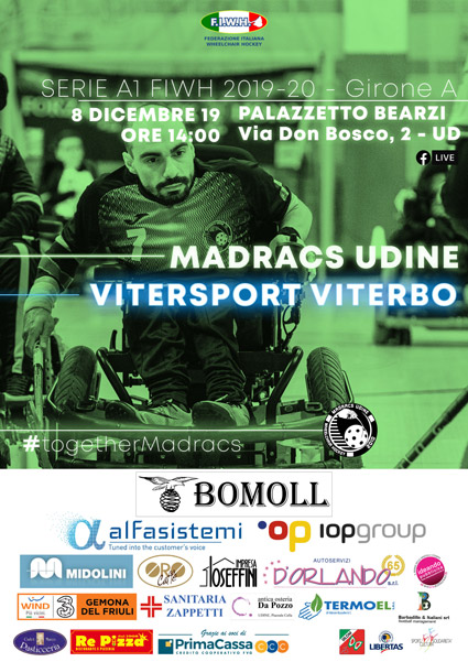 2019.12.08 Madracs Udine vs Vitersport Viterbo