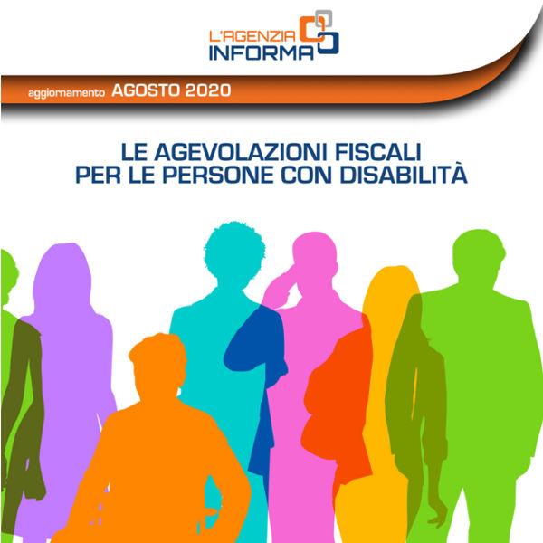 Agenzia delle entrate Guida alle agevolazioni fiscali per persone con disabilità