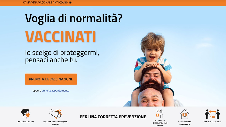 Portale vaccini Regione FVG