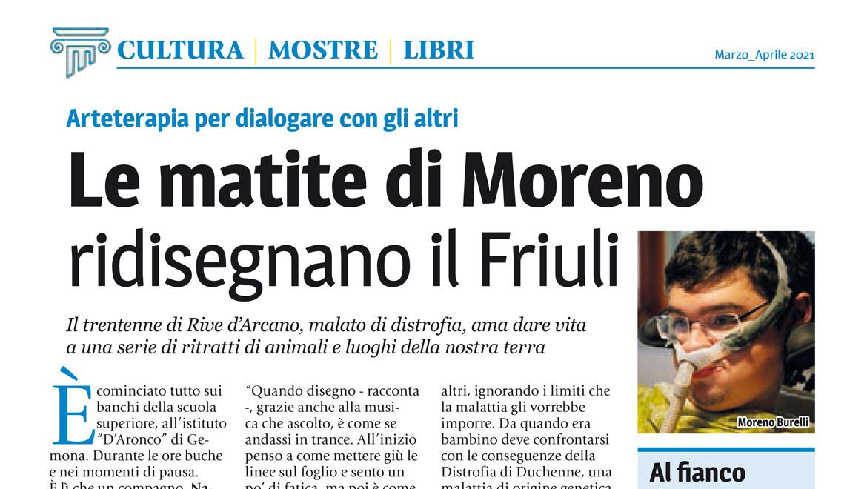 Moreno Burelli su Friuli nel mondo