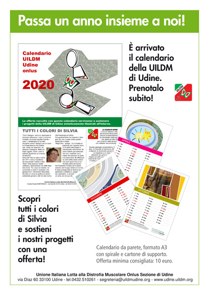 UILDM Udine_calendario 2020