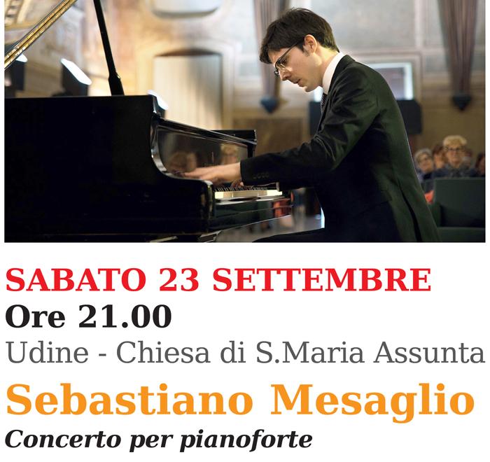 UILDM Musica nel DNA_Sebastiano Mesaglio a Udine