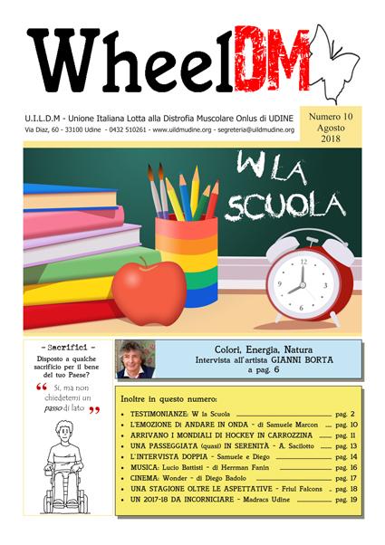 La copertina di WheelDM n.10