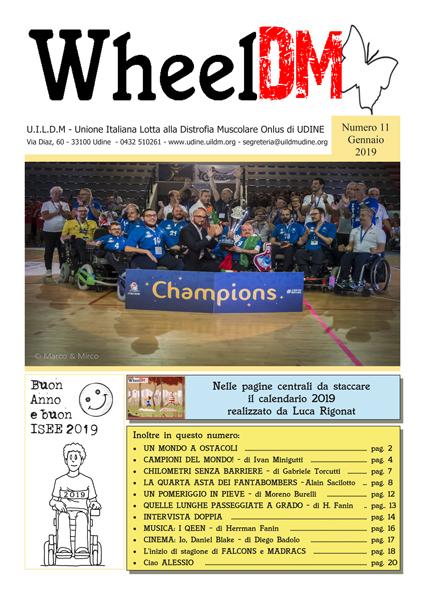 La copertina di WheelDM n.11