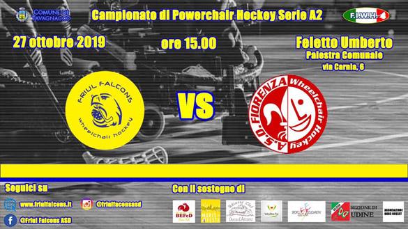 Friul Falcons vs Fiorenza 27.10.2019