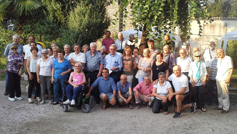 Foto di gruppo degli Amici di via Galilei