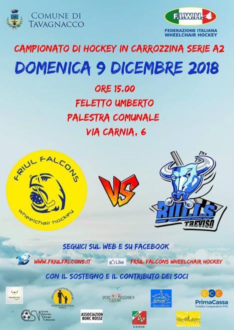 Friul Falcons vs Treviso Bulls