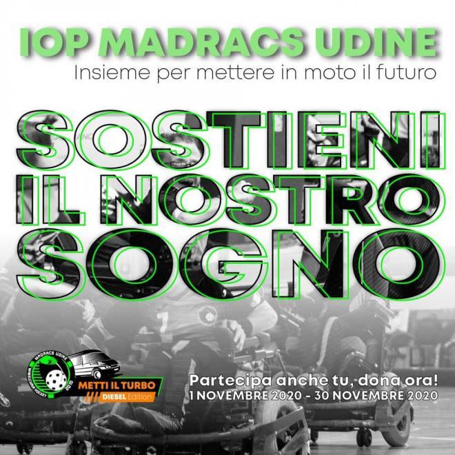 Iop Madracs Udine_raccolta fondi