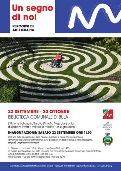 """""""Un segno di noi"""" a Buja il 22 settembre"""