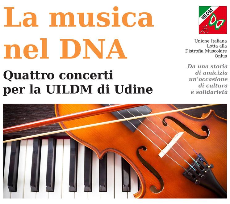 UILDM Udine_La musica nel DNA_Locandina