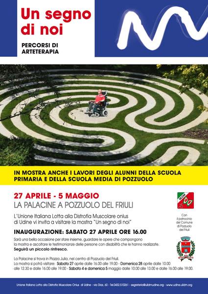 Un segno di noi a Pozzuolo del Friuli il 27 aprile