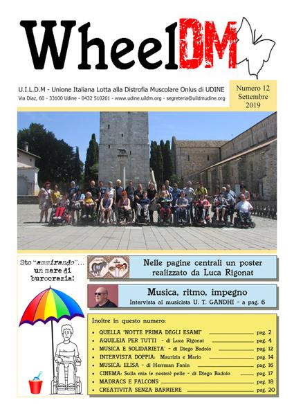 La copertina di WheelDM n.12