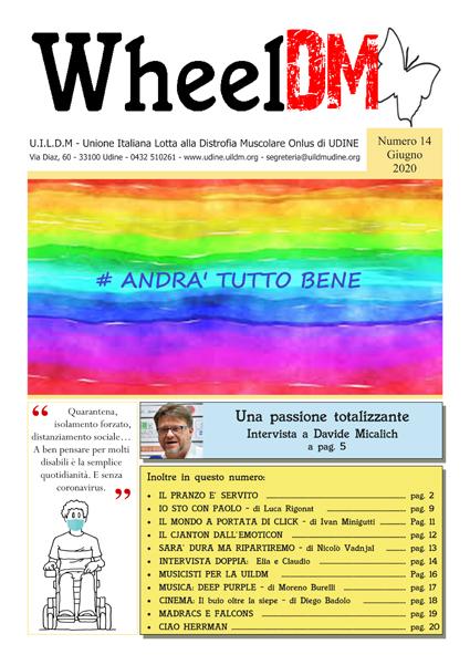 La copertina di WheelDM n.14
