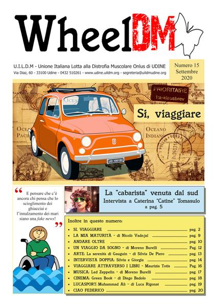 La copertina di WheelDM n.15