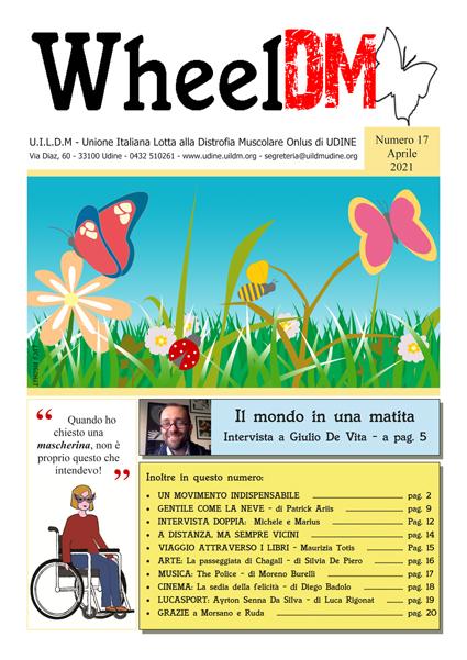 La copertina di WheelDM n.17