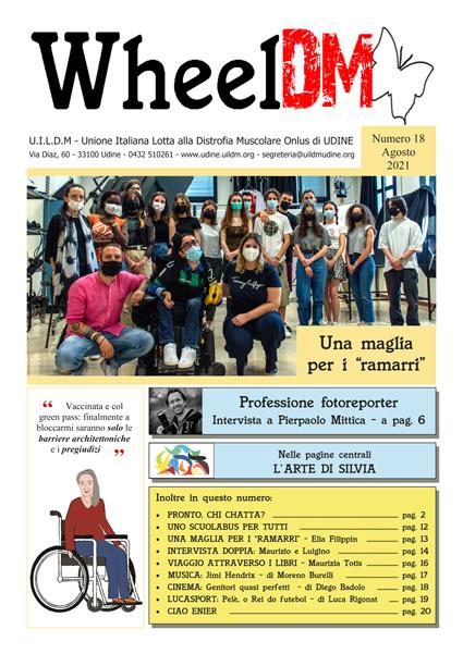 La copertina di WheelDM n.18