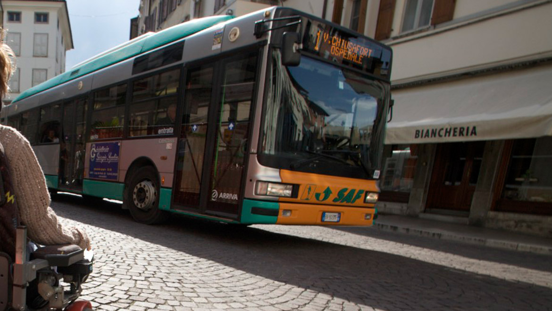 Autobus a Udine
