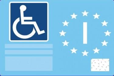 Contrassegno parcheggio disabili