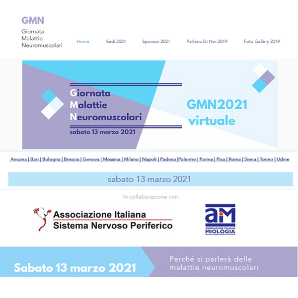 La Giornata Malattie Neuromuscolari 2021