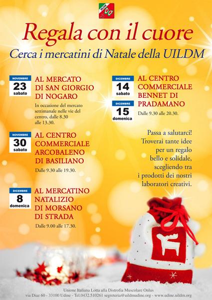 Gli appuntamenti di Natale con la UILDM di Udine