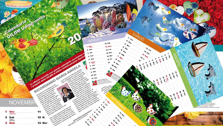 Il calendaro 2019 della UILDM di Udine