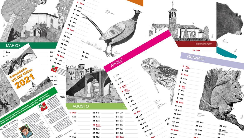 UILDM Udine_Calendario 2021